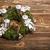 christmas · krans · houten · rustiek · partij - stockfoto © grafvision
