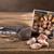 greggio · aglio · legno · chiodi · di · garofano · testa - foto d'archivio © grafvision