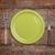 lege · plaat · vork · mes · groene · voedsel - stockfoto © grafvision