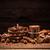 natureza · morta · quebrado · temperos · mesa · de · madeira · chocolate - foto stock © grafvision