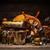 antigo · fronteira · piratas · natureza · morta · mesa · de · madeira · bússola - foto stock © grafvision