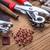 金属 · ツール · 穴 · セット · 木製 - ストックフォト © grafvision