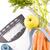 rouge · mètre · à · ruban · blanche · eau · alimentaire · pomme - photo stock © grafvision