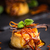 caramelo · pudim · baunilha · decoração · comida - foto stock © grafvision