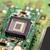 microchip · groene · boord · elektronische · circuit · computer - stockfoto © grafvision