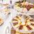 dessert · catering · banket · tabel · vruchten · mint - stockfoto © grafvision