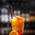naranja · cóctel · cereza · rodaja · de · naranja - foto stock © grafvision