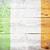 vlag · Ierland · geschilderd · hout · plank - stockfoto © grafvision