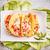 タコス · シェル · 野菜 · 充填 · 食品 · 鶏 - ストックフォト © grafvision