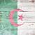 vlag · Algerije · geschilderd · hout · plank - stockfoto © grafvision