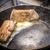 vesepecsenye · disznóhús · vaj · serpenyő · konyha · vacsora - stock fotó © grafvision