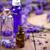 tuvalet · şişeler · iki · plastik · mavi · şampuan - stok fotoğraf © grafvision