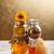 miele · a · nido · d'ape · vetro · jar · polline · propoli - foto d'archivio © grafvision