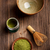 Японский · чай · церемония · иллюстрация · женщину · силуэта - Сток-фото © grafvision
