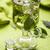 glas · ijs · groene · thee · kubus · drinken · voorraad - stockfoto © grafvision