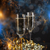 año · nuevo · champán · gafas · bengala · vino · fondo - foto stock © grafvision