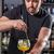 barman · cocktail · bar · lepel · hand - stockfoto © grafvision