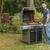 man · barbecue · jonge · man · voedsel · glimlach · partij - stockfoto © grafvision