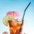 vetro · tè · freddo · limone · calce · isolato · bianco - foto d'archivio © grafvision
