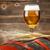 cerveja · barril · trigo · mesa · de · madeira · luz · vidro - foto stock © grafvision