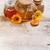 miele · ancora · vita · fresche · tavolo · in · legno · fiore · vetro - foto d'archivio © grafvision