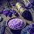 friss · levendula · virágok · fából · készült · tál · só - stock fotó © grafvision