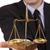 avocat · échelles · justice · blanche · livre - photo stock © grafvision