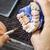 dentales · técnico · de · trabajo · laboratorio · mano · pintura - foto stock © grafvision