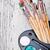 watercolor paints set stock photo © grafvision