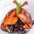 ördek · meme · yeşil · meyve · beyaz · pişirme - stok fotoğraf © grafvision
