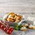fromage · cottage · bruschetta · tranche · pain · fraîches · origan - photo stock © grafvision