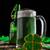 聖パトリックの日 · 素朴な · 木材 · ボード · パーティ · ガラス - ストックフォト © grafvision