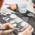 gipsz · modell · emberi · állkapocs · fehér · fogászati - stock fotó © grafvision