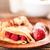 pannenkoek · esdoorn · siroop · pannenkoeken · ondiep - stockfoto © grafvision