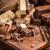 домашний · шоколадом · разделочная · доска · молоко · конфеты - Сток-фото © grafvision