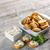 fromage · cottage · blé · entier · déjeuner · alimentaire · fromages - photo stock © grafvision