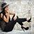 vrouw · roken · zwarte · vrouw · zwarte · vrouwen · schoonheid - stockfoto © grafvision