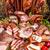 hideg · halom · füstölt · sonka · pepperoni · szalámi - stock fotó © grafvision