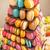 doce · caseiro · bolinhos · forma · de · coração · foco - foto stock © grafvision