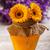 jar · miele · tavolo · in · legno · legno · vetro · dolce - foto d'archivio © grafvision