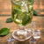 freddo · tè · freddo · fresche · limone · menta · vetro - foto d'archivio © grafvision