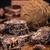шоколадом · десерта · печенье · салями · кокосового · торт - Сток-фото © grafvision