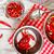 kırmızı · çanak · cam · kavanoz · gıda - stok fotoğraf © grafvision