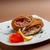 jambon · fotoğraf · lezzetli · maydanoz · beyaz - stok fotoğraf © grafvision