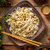 kínai · étel · tál · zöld · tyúk · vacsora - stock fotó © grafvision