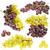 collectie · rijp · vruchten · druif · geïsoleerd - stockfoto © grafvision