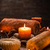 estância · termal · natureza · morta · vela · zen · pedras · ardente - foto stock © grafvision