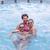 enfants · jouer · subaquatique · piscine · vacances · d'été - photo stock © grafvision