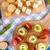 健康 · パン · スナック · 小 · 全粒粉パン · 木製 - ストックフォト © grafvision