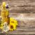 ayçiçek · yağı · şişe · tohumları · çiçek · ışık - stok fotoğraf © grafvision